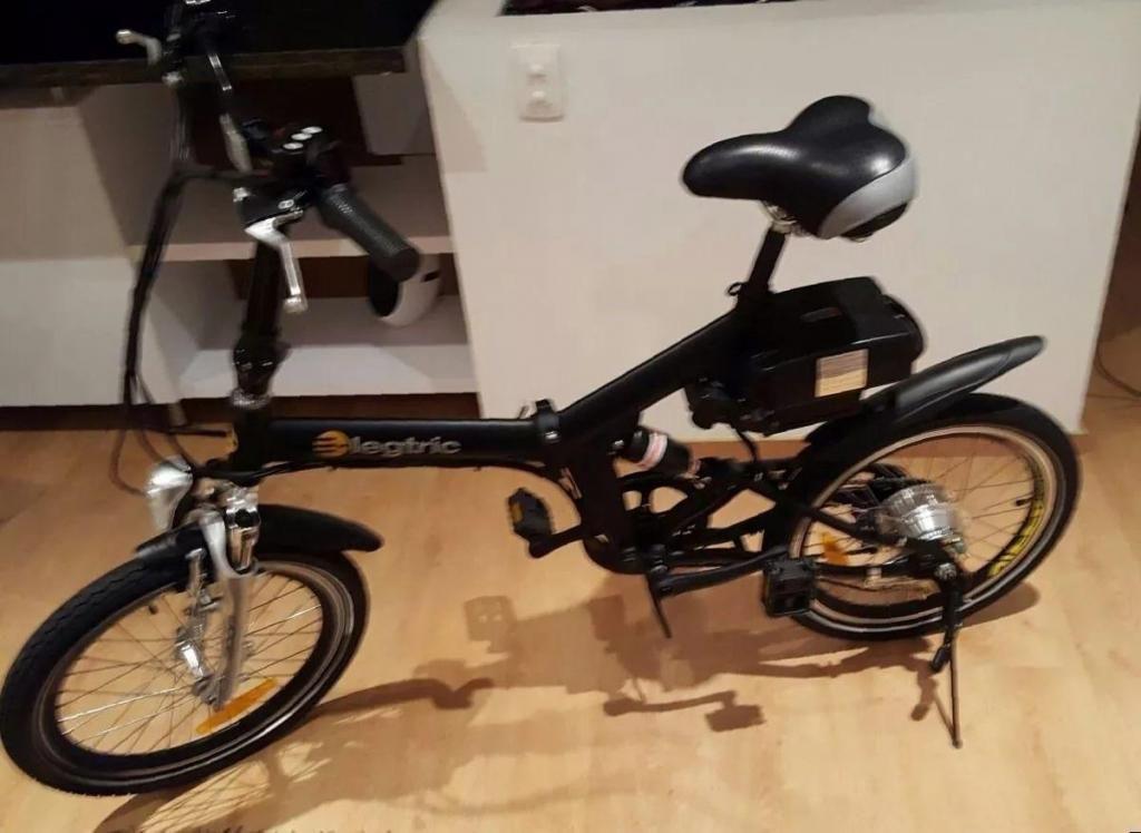 Vendo bicicleta elctrica plegable