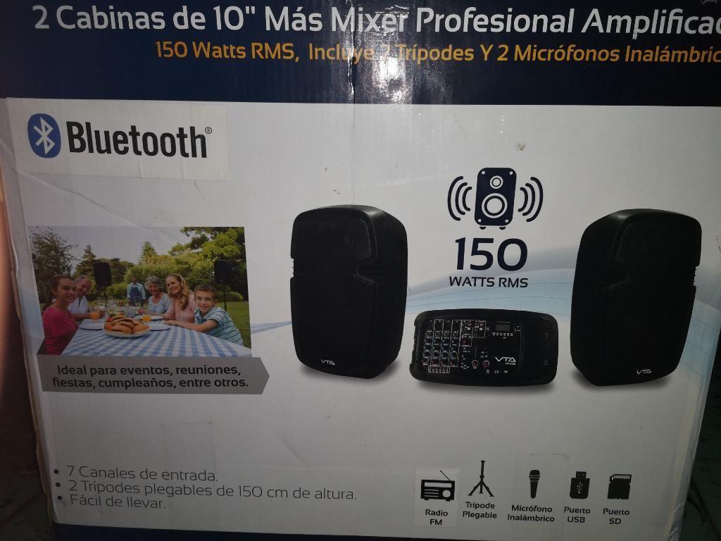 Cabinas de Sonido con Bluetooth Usb