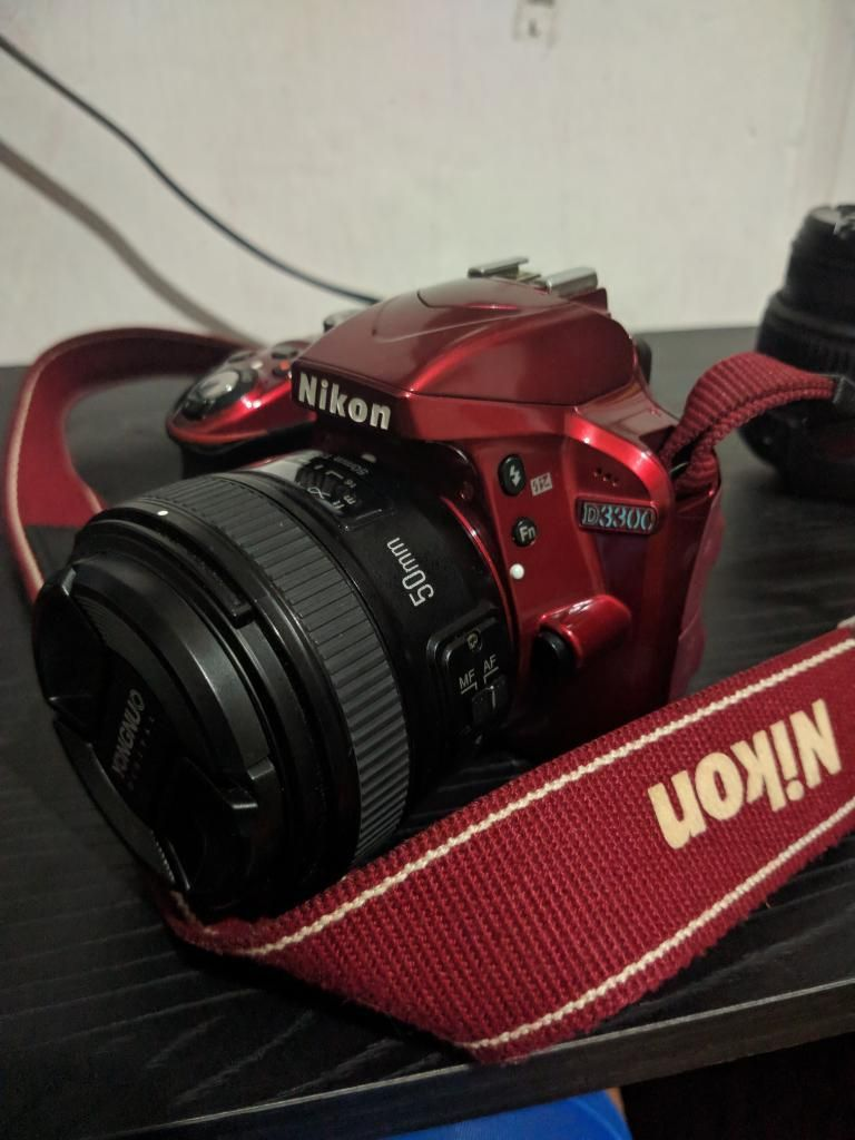 Cámara Nikon D Lente 50mm