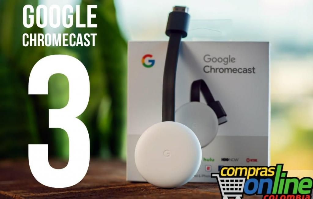 Google Chromecast 3ra Generación Netflix Youtube Smart tv