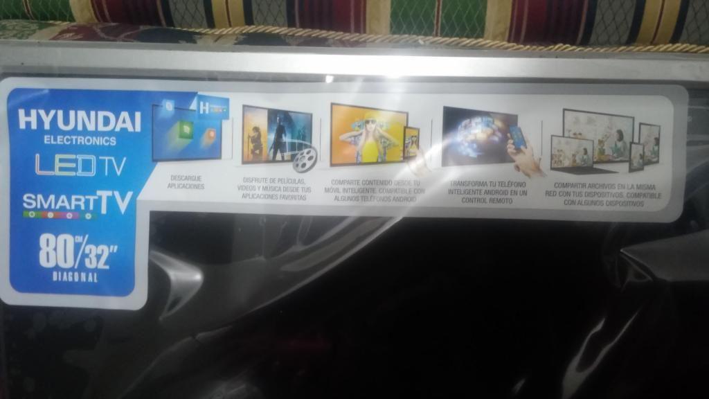 Hyundai tv smart 32 pulgadas, NUEVO