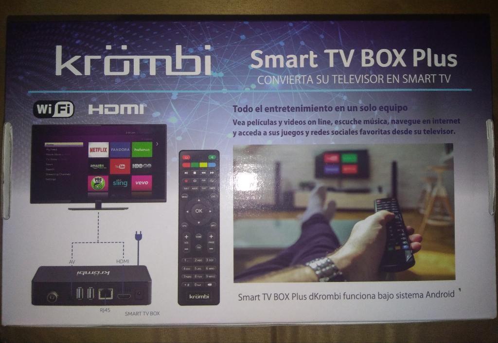 Nuevo Tv Box con Tdt