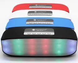 Parlante Bluetooth Nr, Radio Fm Sd Usb Aux Luces
