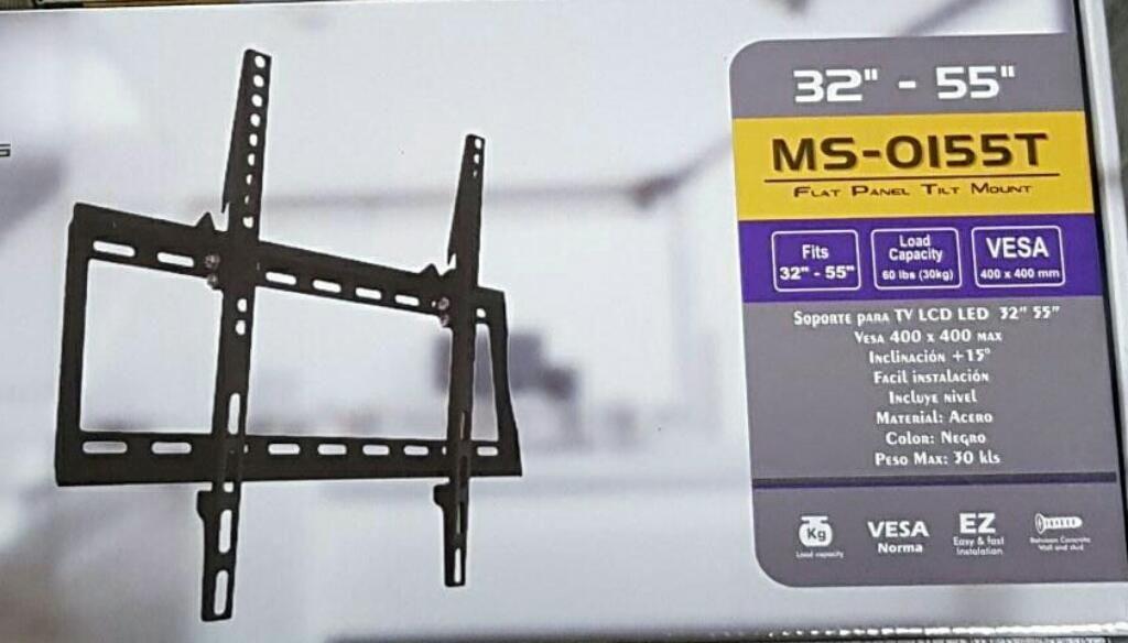 Soporte Tv Fijo Inclinable Tv de 55
