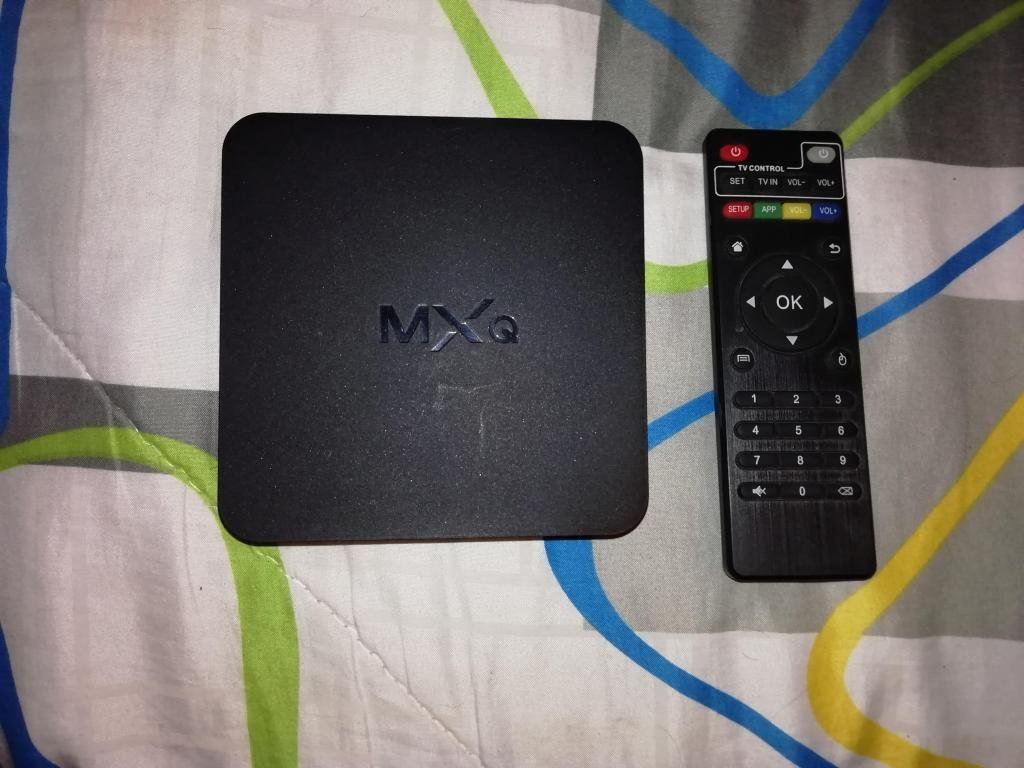 VENDO TV BOX MXQ