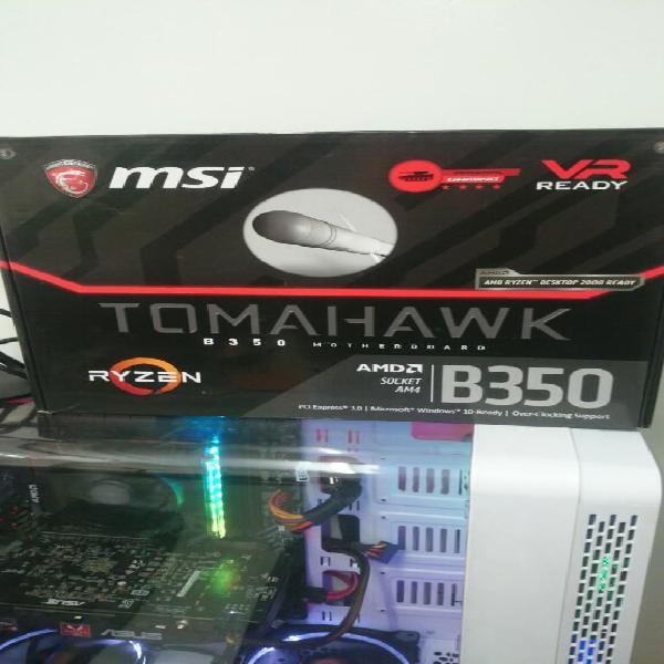 Board Msi B350 Tomahawk Rgb Usb 3.1 Am4