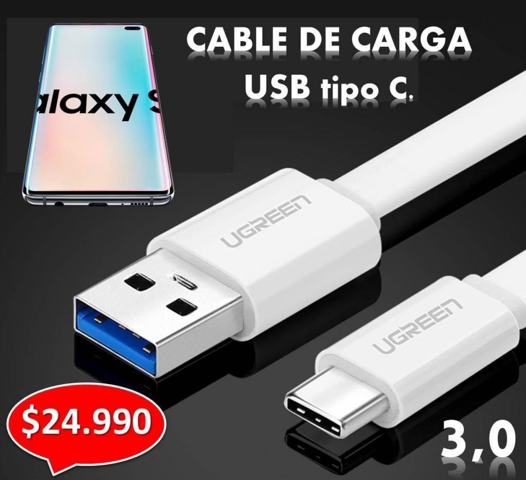 CABLE USB TIPO C, CARGA RAPIDA 3.0. PARA TU SAMSUNG!!! Y