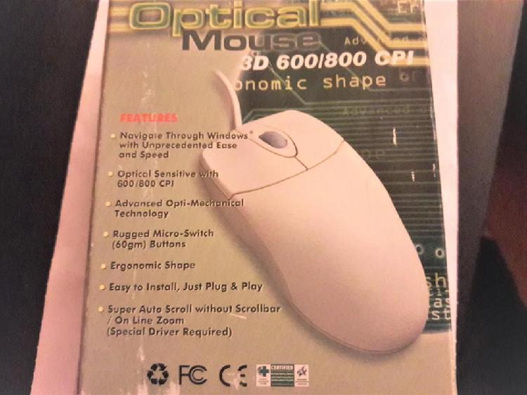Nuevo Mouse/raton optico modelo S033PS00X para PC con