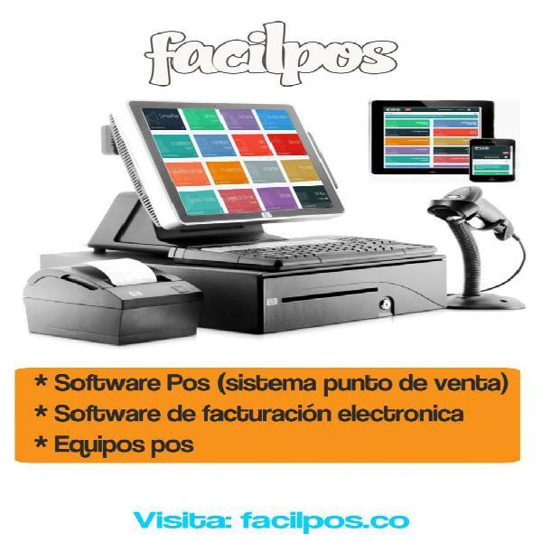 Software Pos Facturación electrónica