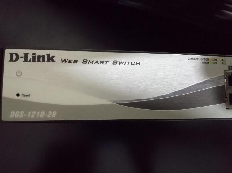 Switch D-link de 24 Puertos