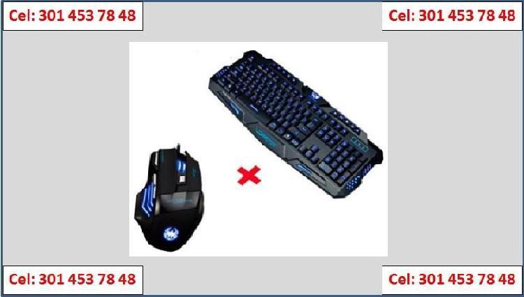 Teclado Gamer M200 Mouse Zelote 7 Botones 7200 Dpi