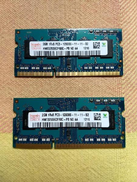 Vendo 2 Memorias Ram Ddr3