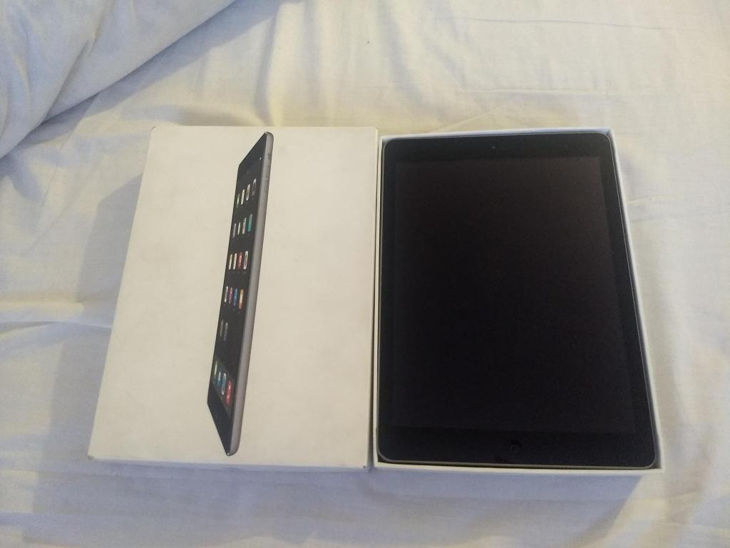 ipad air 32 gb como nueva en caja con factura