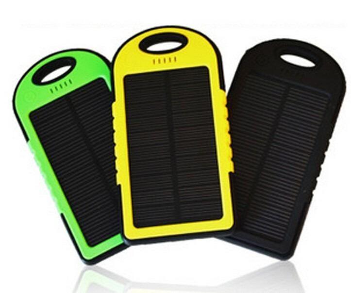 power bank solar cargador portatil NUEVO con 2 puertos USB