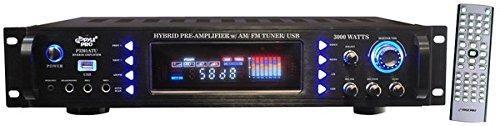 Amplificador De Potencia De Audio Para El Hogar Pyle De 4 Ca
