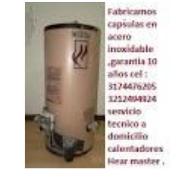 Servicio técnico de calentadores Heat master