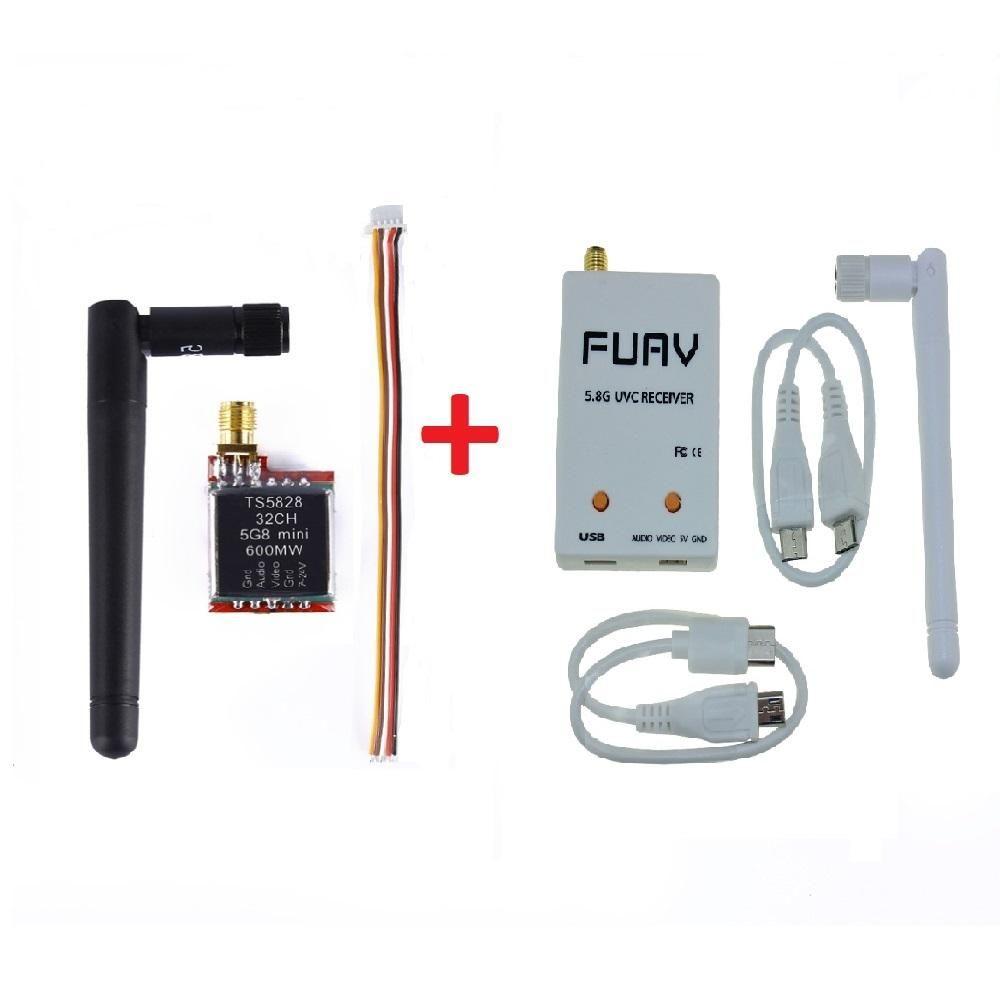 Receptor Celular Transmisor Video 5.8ghz Tsmw Fpv