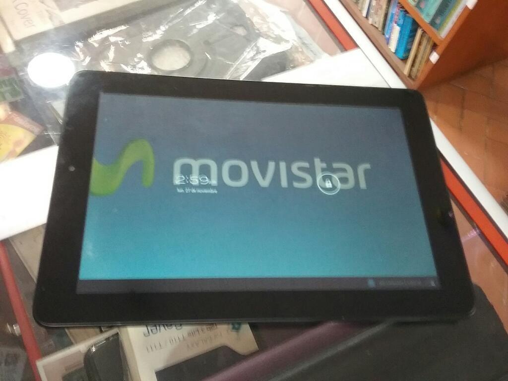 Tablet 10.1 Movistar 8 Gb 1 Ram Wi Fi