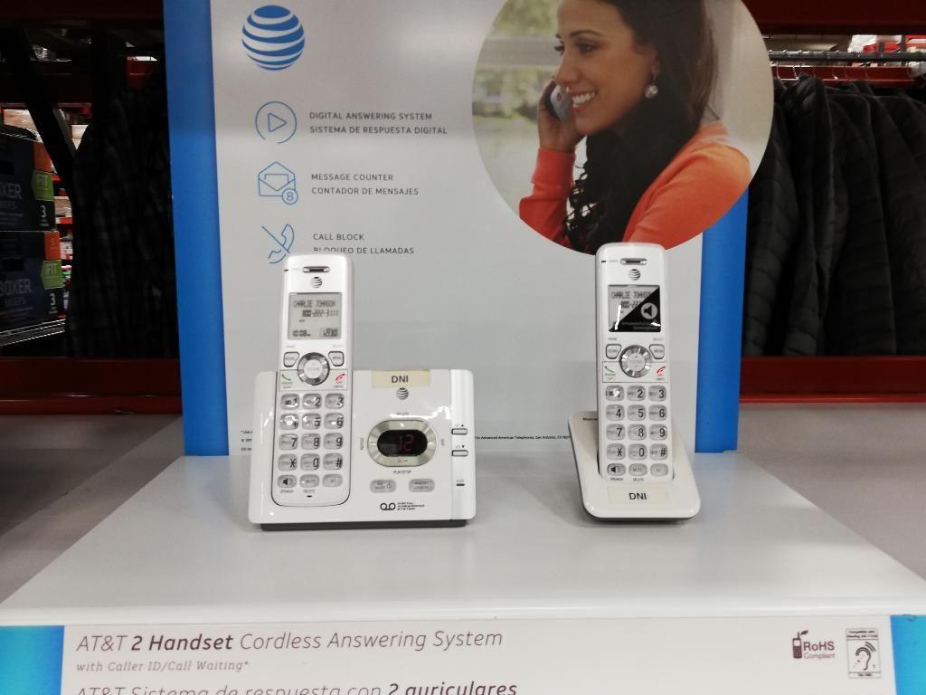 Teléfono Att Teléfono Inalambrico de 2