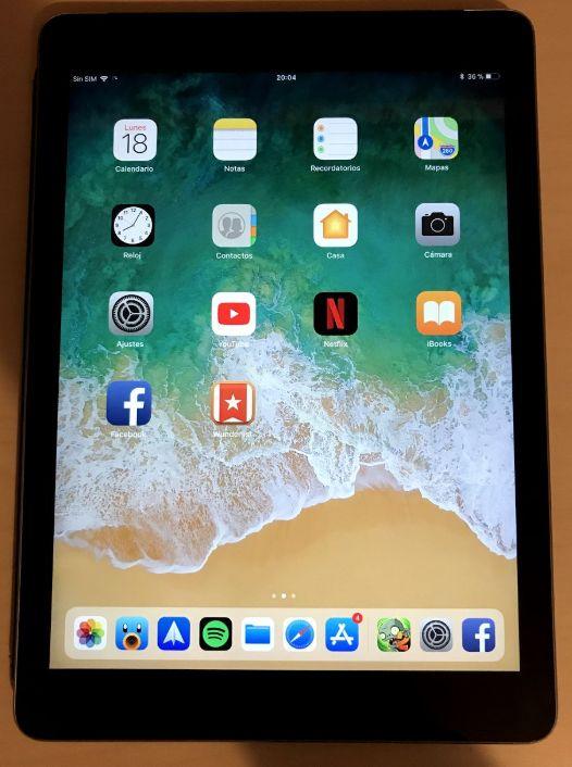 iPad Air 1 32Gb con Sim Libre Icloud perfecto estado