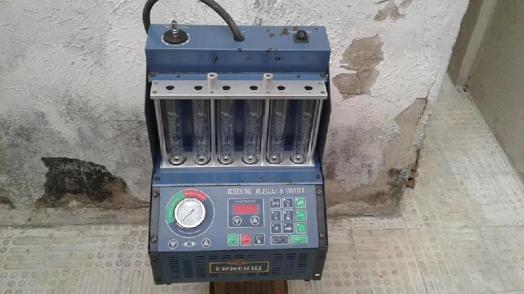 lavadora y probadora de inyectores a gasolina