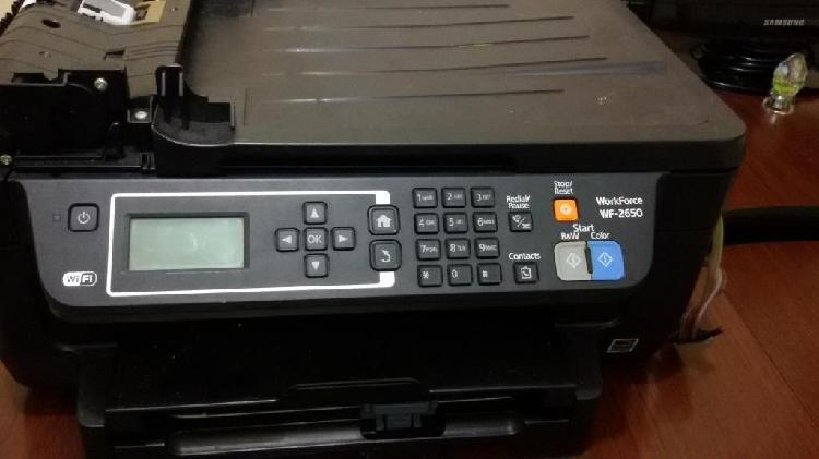 Impresora multifuncional Epson WorkForce WF-2650 - Wifi -