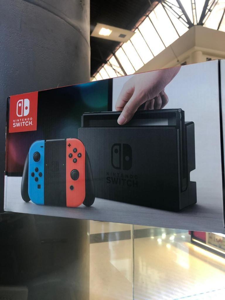 Nintendo Switch Nuevo Sellado Garantia 1 Año
