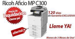 PROMOCION FOTOCOPIADORA RICOH MPC 300