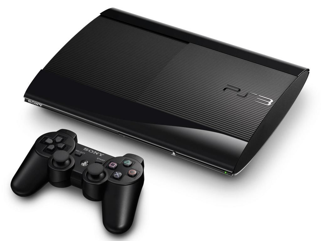 Ps3 Super Slim 500gb Con 4 Juegazos Y Control