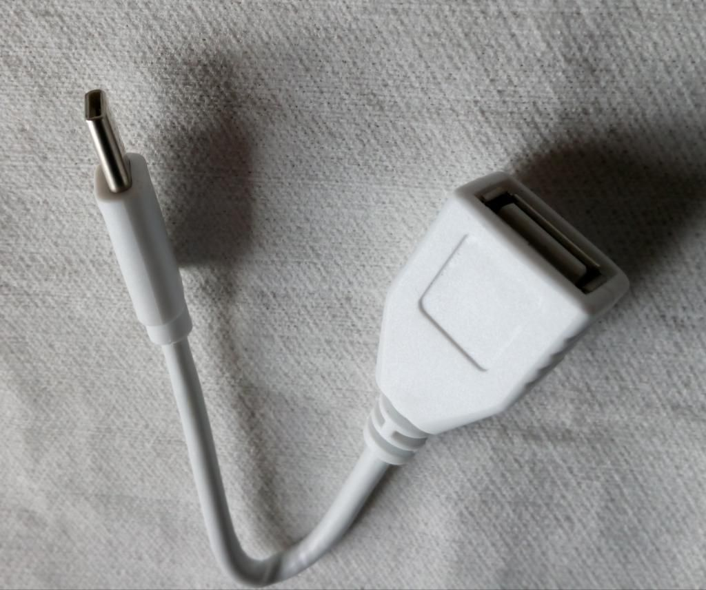 Cable Otg de Usb Conector Tipo C 2.0
