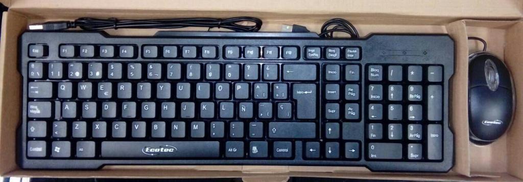 Combo Teclado Y Mouse Ecotec