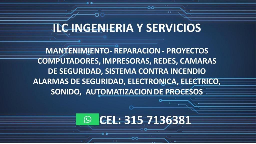 MANTENIMIENTO PREVENTIVO Y CORRECTIVO, REPARACION, PROYECTOS