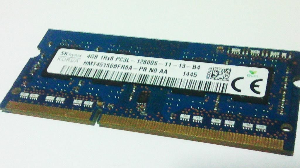 Memoria DDR3 4GB de segunda