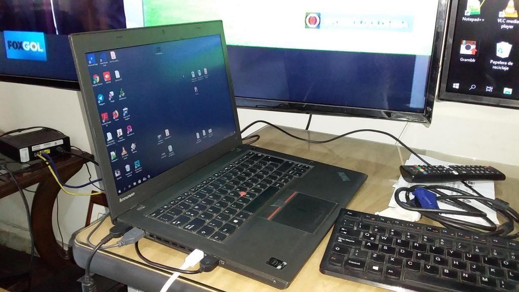 Portatil Lenovo T450 - Core Iu - 8gb Ram Excelente