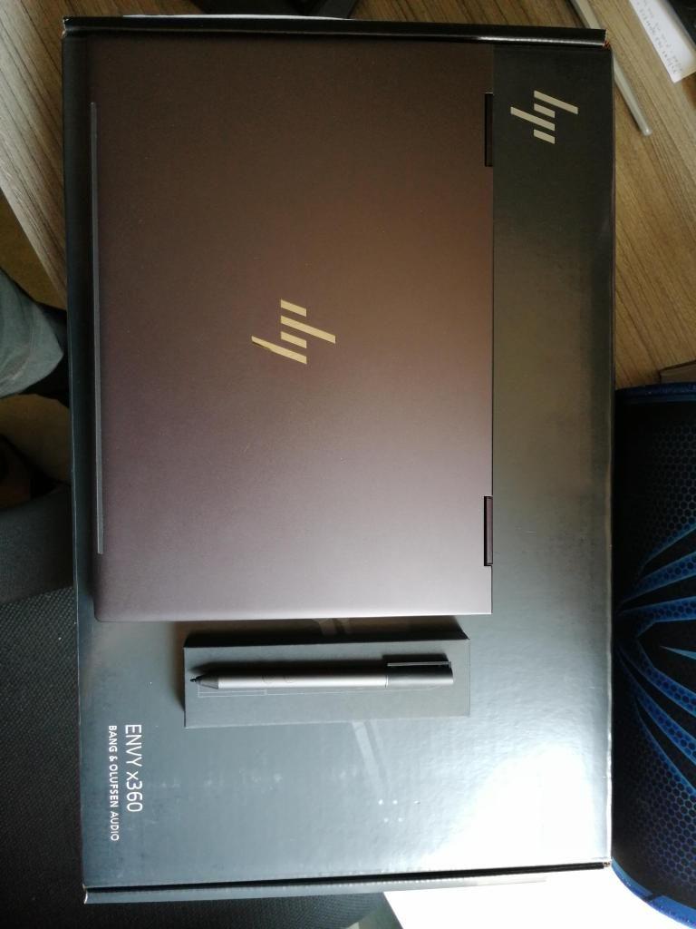 Portatil Táctil Convertible Hp Envy X360