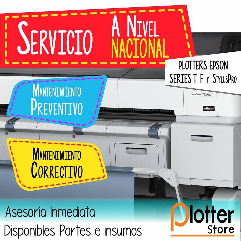 SERVICIO TÉCNICO DE PLOTTERS A NIVEL NACIONAL