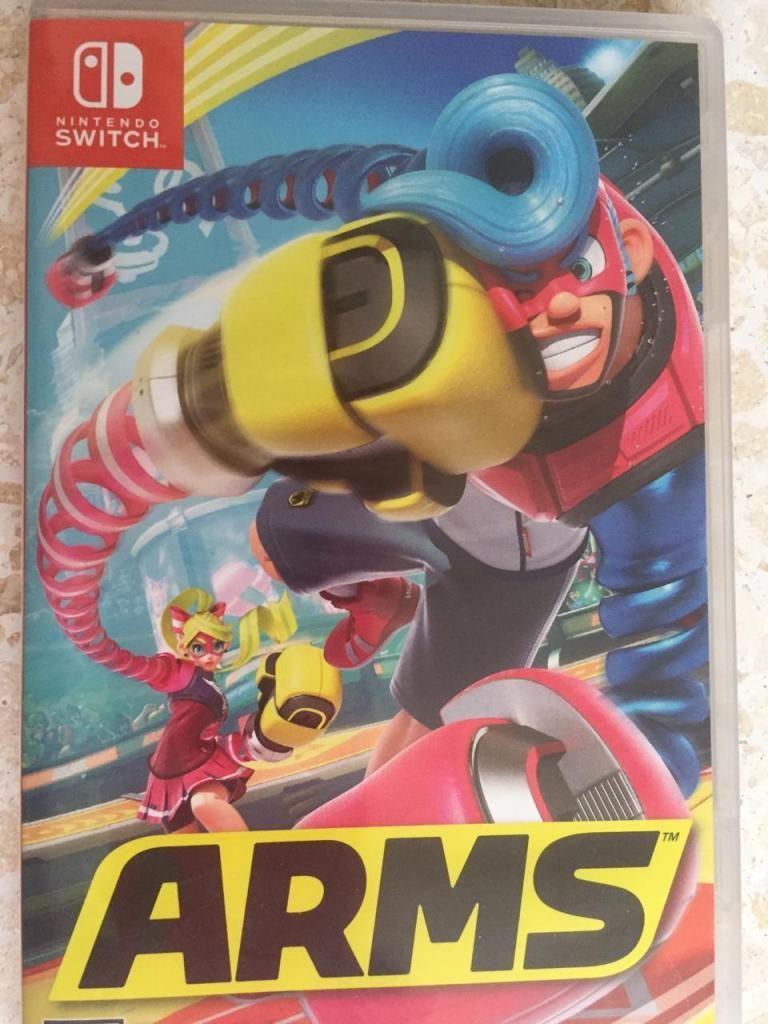 ARMS Nintendo Switch - Nuevo