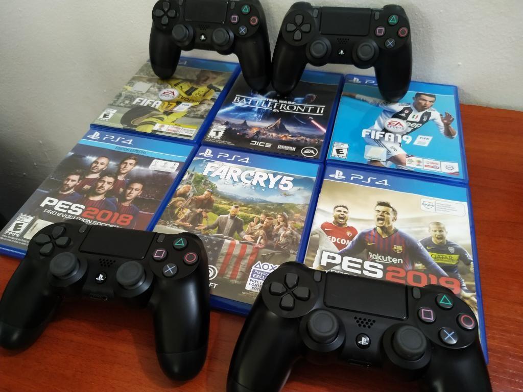 Control Ps4 Juegos Ps4
