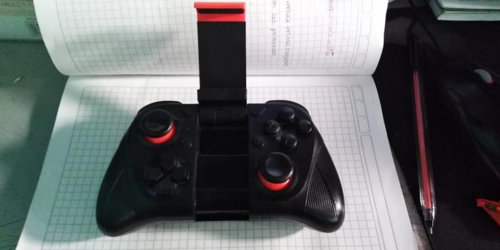 Gamepad Control Bluetooth Mocute Pc/ios/android Recargable