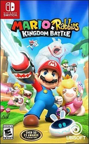 Mario Rabbids Kingdom Battle Switch Nuevo y Sellado