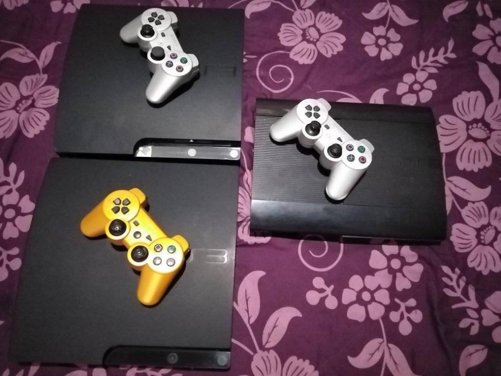 PS3 SLIM Y SUPER SLIM 20 JUEGOS CADA UNO