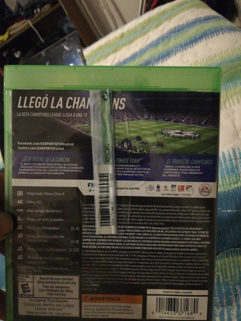 Se Vende Fifa19 Xbox One