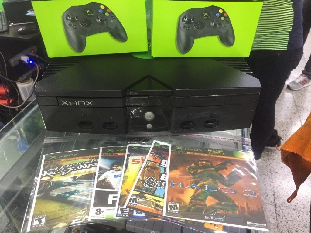 Xbox Clasico 2 Controles Nuevos