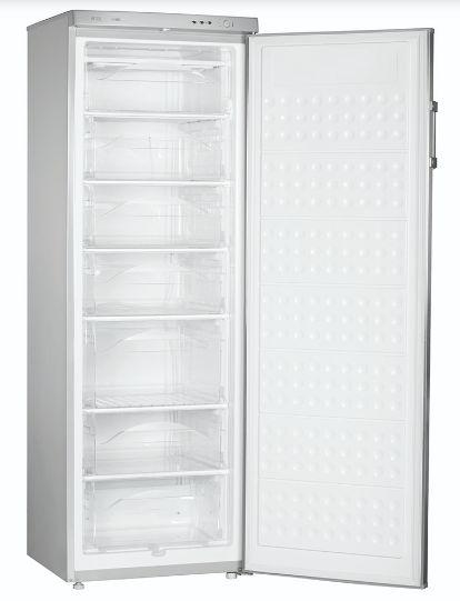 Congelador Vertical de 305L Silver Mabe - ALASKAV305S0