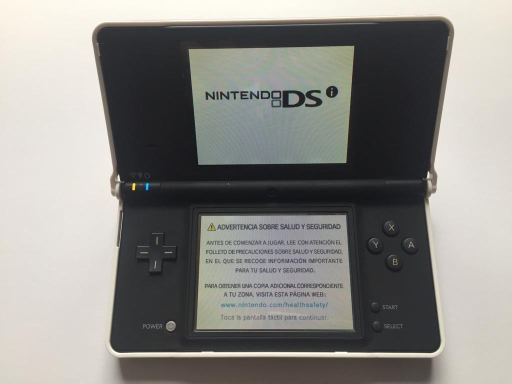 Consola Nintendo Dsi, Negra, Usada