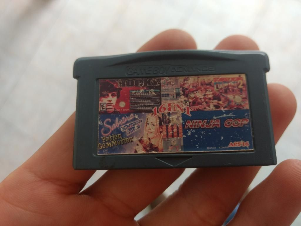 Game Boy Advance Juego 16 en 1