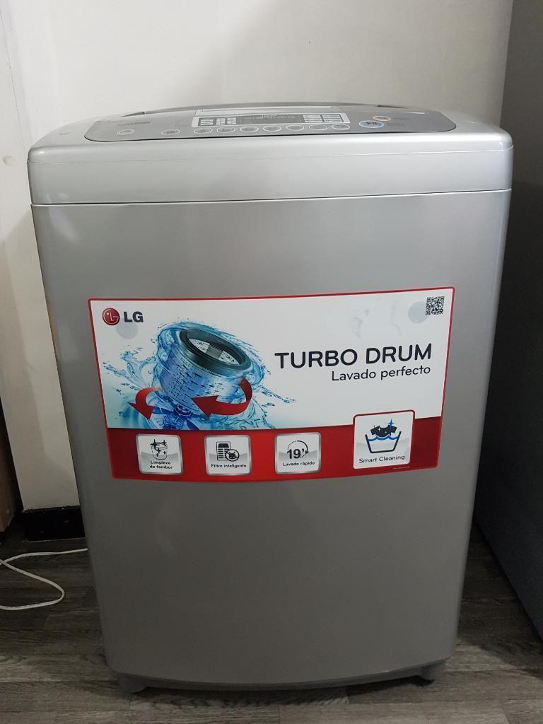 Lavadora Lg 33 Libras Turbo Drum