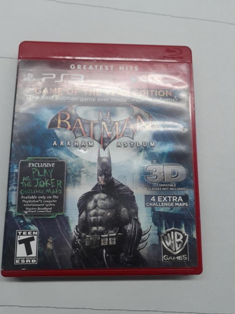 Pelicula Batman Arkham Asylum