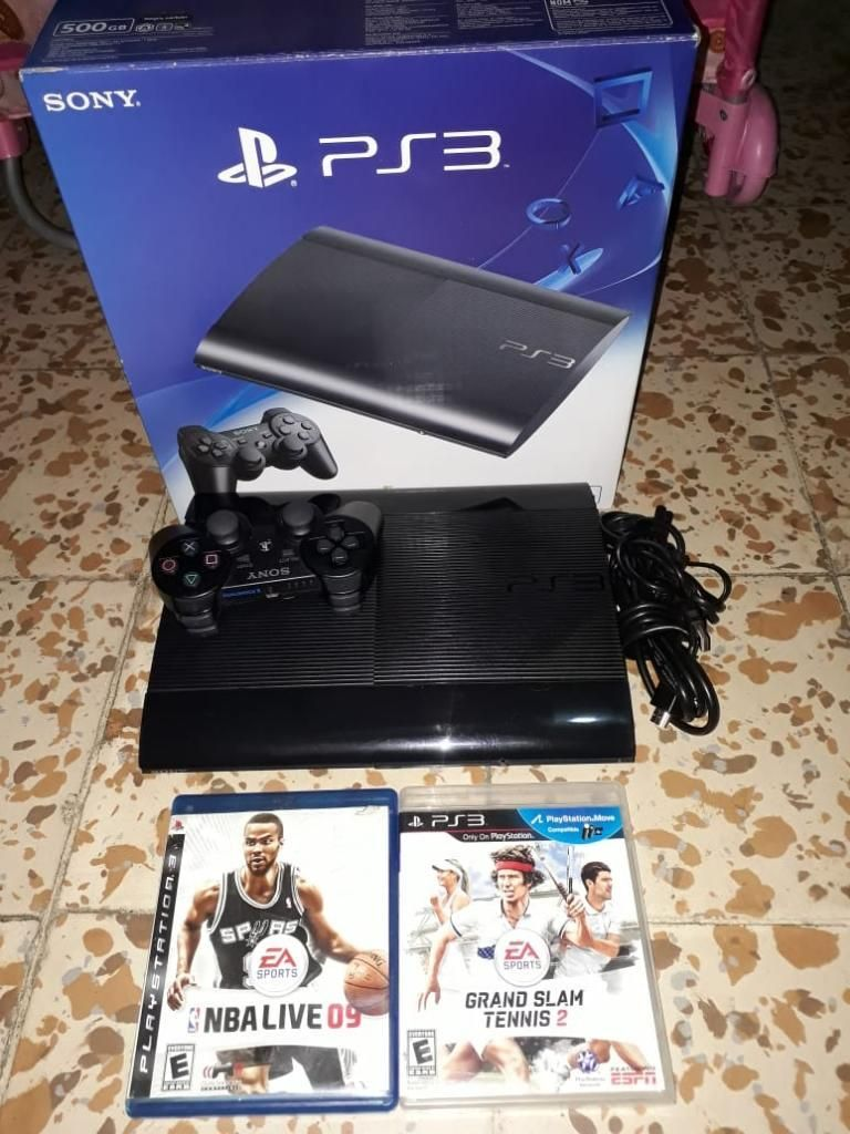 Ps3 Super Slim de 250 Gb