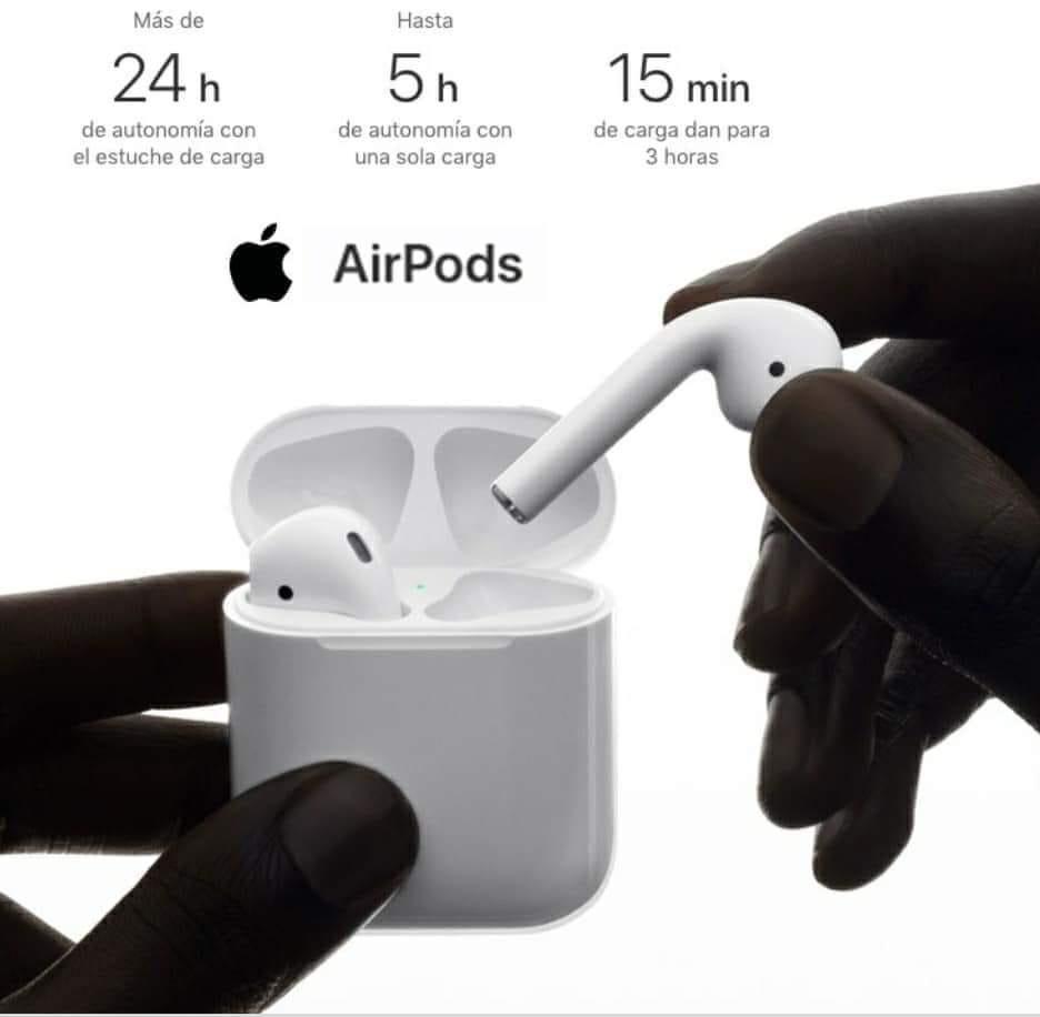 Airpods Apple 100% Original Muy Poco Uso Garantia Factura de